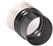 DX100X 100mm Easy Fit Hose Cuff for Dust Extractors