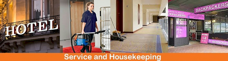 Service and Housekeeping vacuum cleaners