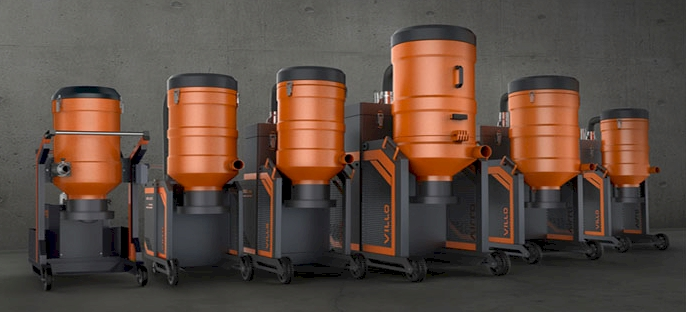 Dust Removal for the Floor Grinding Industry