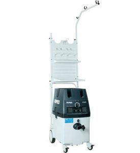 RUPES Electro-Pneumatic Mobile Dust Extraction Unit with Work Station